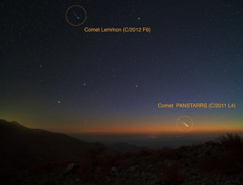 Comet Pan-STARRS dresses up night skies, visible with
